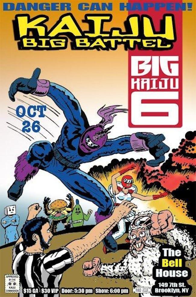 Kaiju Big Battel and Ultramechatron Team Go!