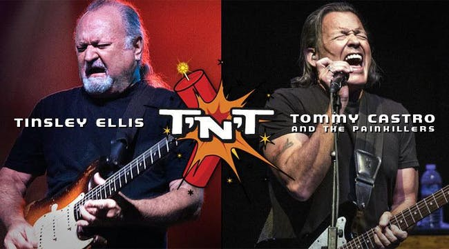 TNT Tour (Tinsley Ellis & Tommy Castro and the Painkillers)