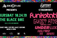 Potent Productions Takeover: Funkstatik, Ghost Ride, Underlux