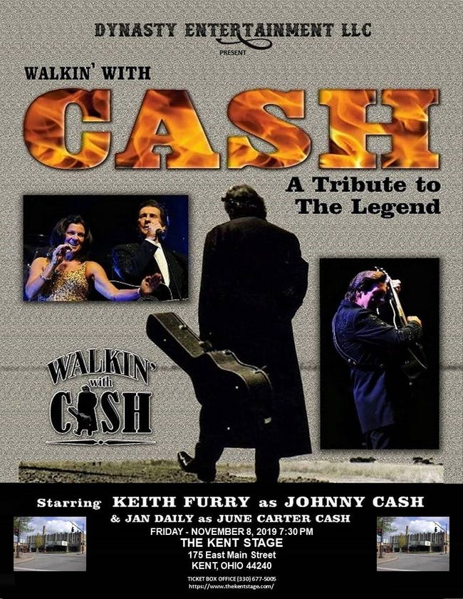 Walkin' with CASH, Keith Furry as Johnny Cash, Jan Daily