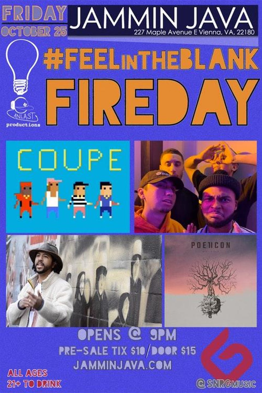#FEELintheBLANK Fireday