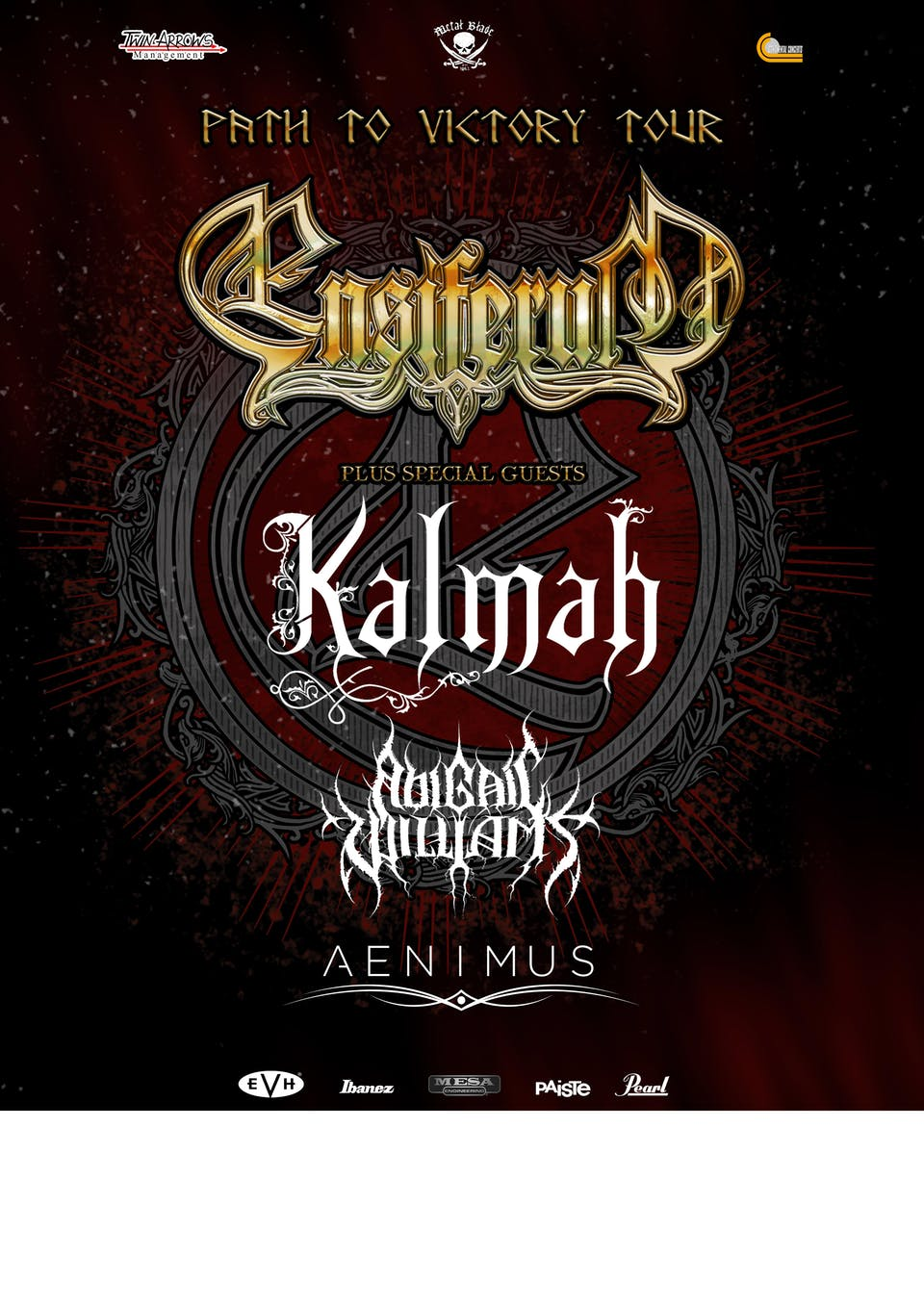 ENSIFERUM w/ Kalmah, Abigail Williams, & Aenimus