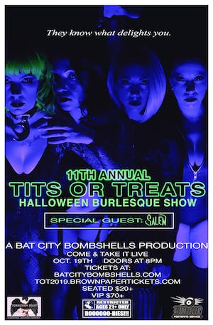 11TH ANNUAL TITS-OR-TREATS BURLESQUE SHOW