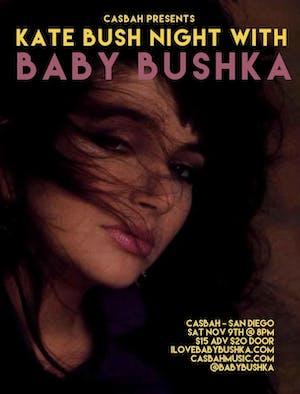 Kate Bush Night with Baby Bushka