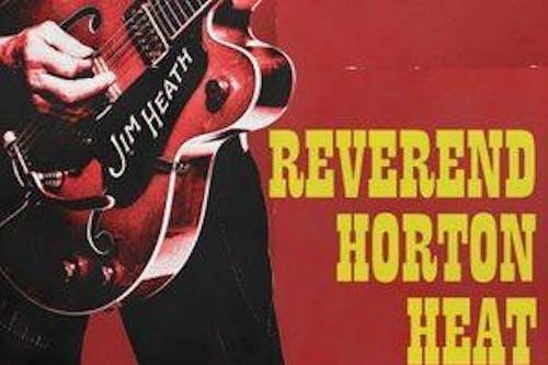 Reverend Horton Heat, The Buttertones, The Paladins