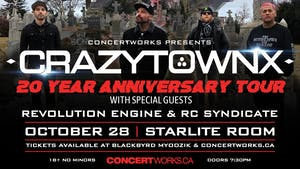 Crazy Town w/ Revolution Engine & RC Syndicate
