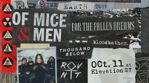 Of Mice & Men w/ For The Fallen Dreams, Thousand Below, Blood Bather, RVNT