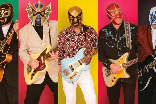 Los Straitjackets • Purple K'nif