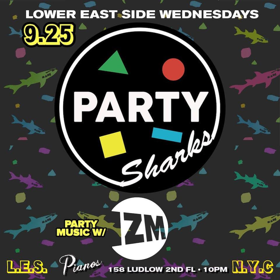 PartySharks NYC ft. Izm (Free)