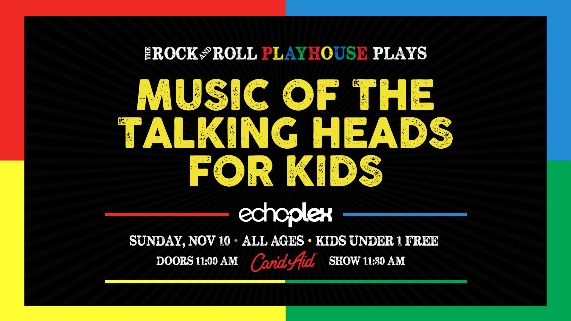 The Music of The Talking Heads for Kids