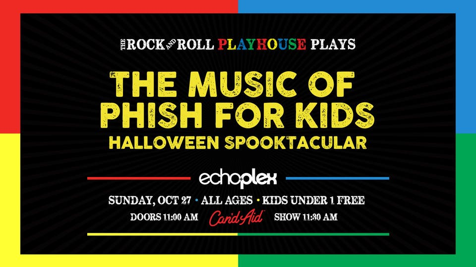 The Music of Phish for Kids - Halloween Spooktacular!
