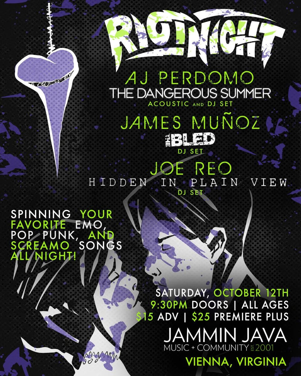 Riot Night: Emo Dance Party + Show