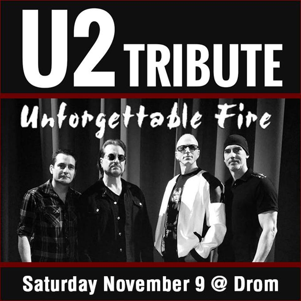 CEG Presents Unforgettable Fire U2 Tribute