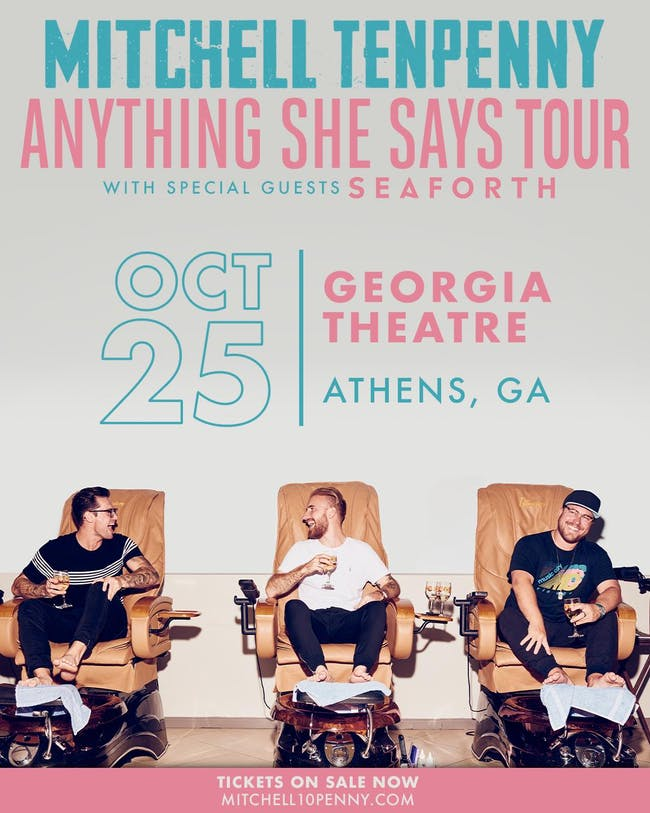 Mitchell Tenpenny - Anything She Says Tour