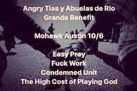 Angry Tias y Abuelas de Rio Grande Benefit @ Mohawk (Indoor)