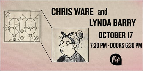 Chris Ware & Lynda Barry