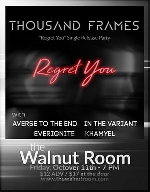 Thousand Frames, Averse To The End, In The Variant, EverIgnite, Khamyel
