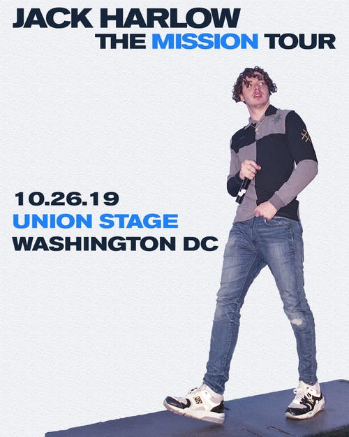 Union Stage & Songbyrd Present Jack Harlow - The Mission Tour + ALLBLACK