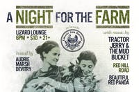 A Night for The Farm: A Fundraiser for the Lancaster Farm Sanctuary