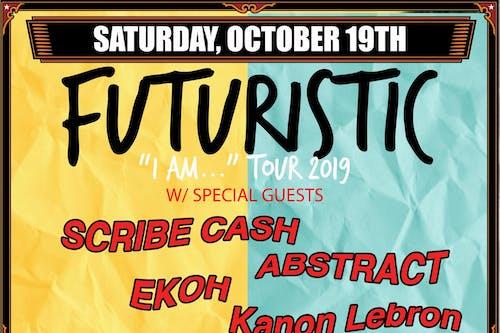 """Futuristic - """"I Am..."""" Tour 2019"""