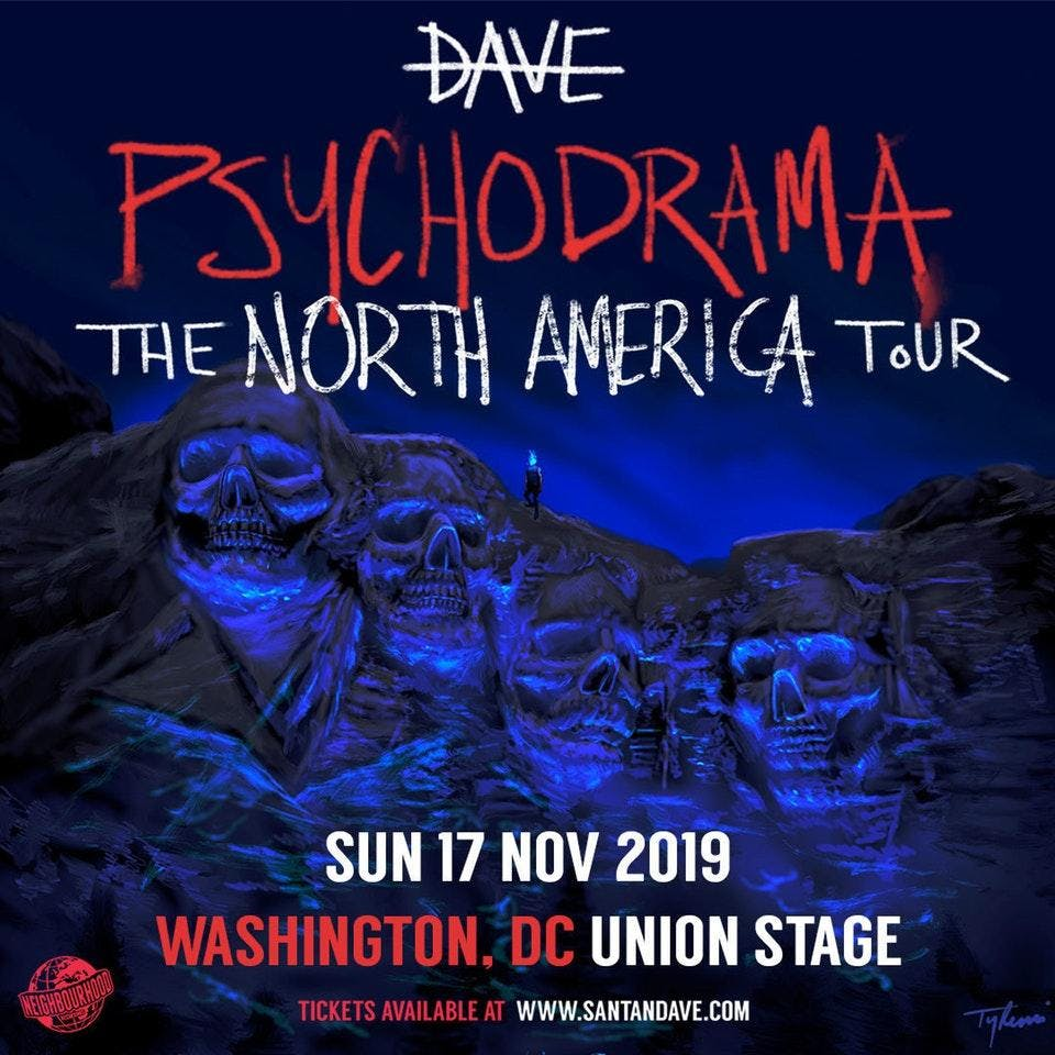 Dave - PSYCHODRAMA NORTH AMERICA TOUR