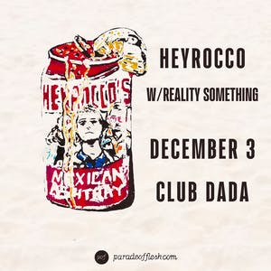 HEYROCCO • Reality Something