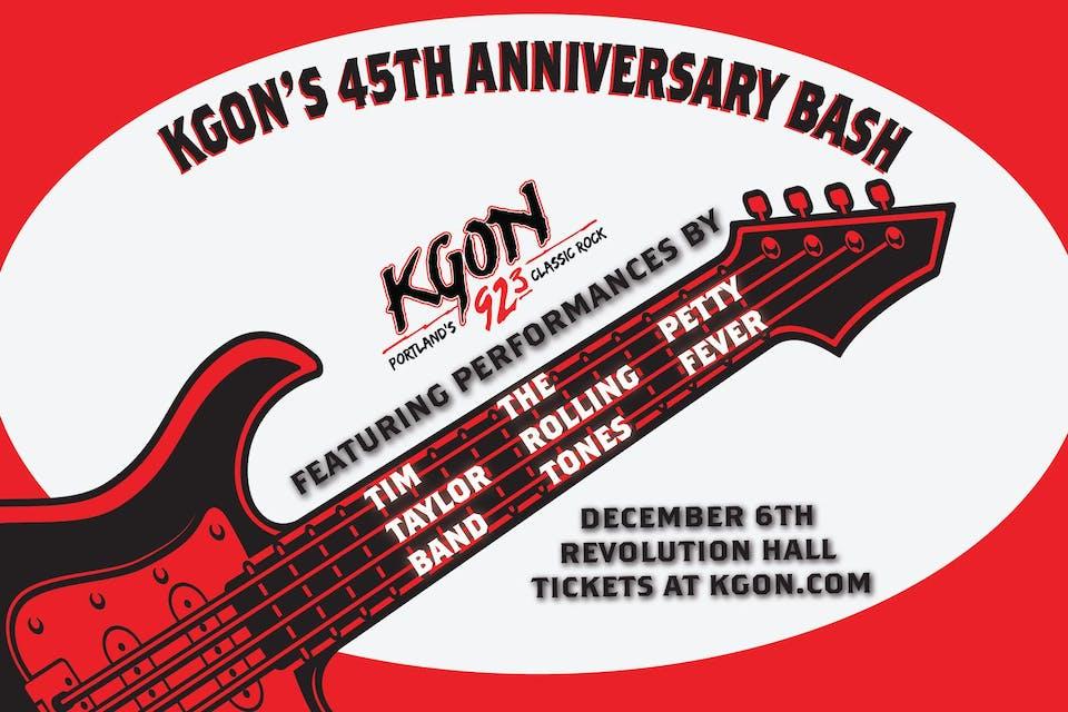 KGON 45th Anniversary