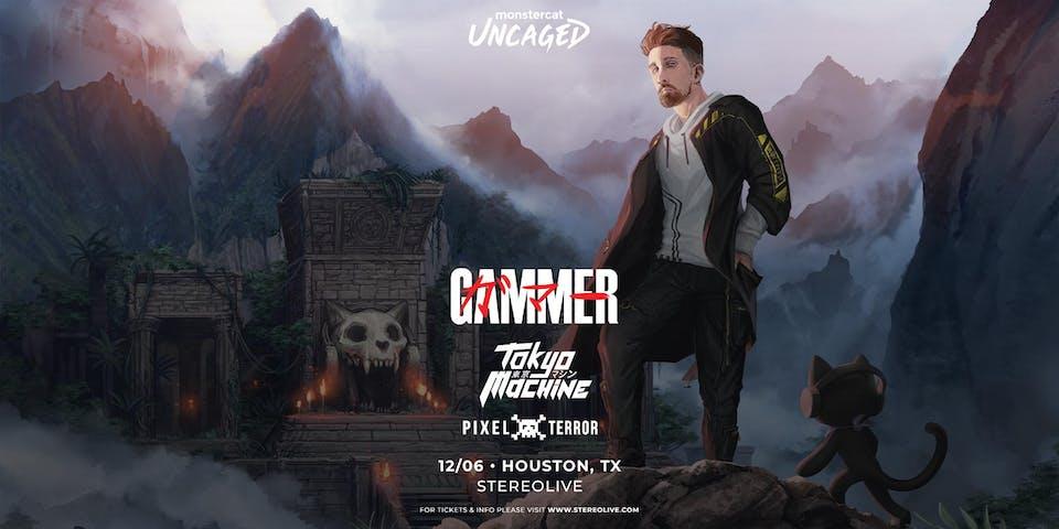 Gammer - Monstercat Uncaged Tour - Stereo Live Houston