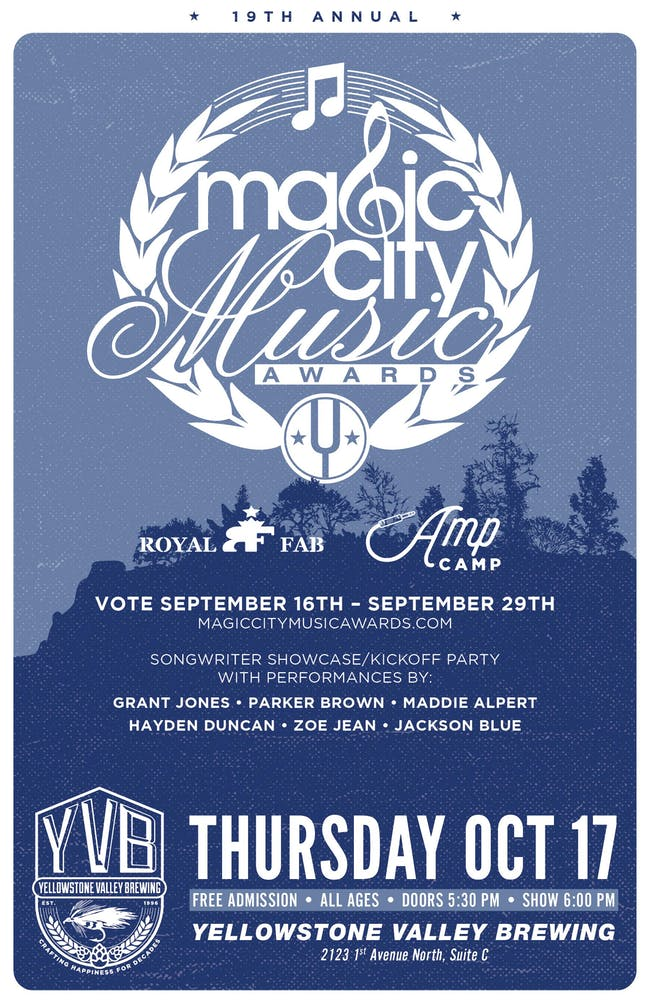 Magic City Music Awards Songwriter Showcase/Kickoff Party