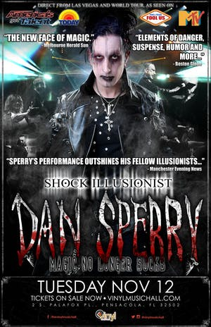 Shock Illusionist: Dan Sperry