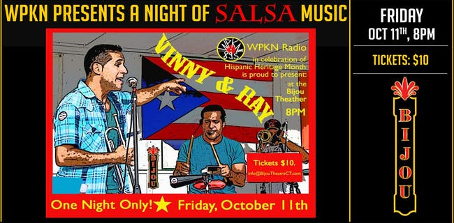 Salsa Night With Vinny & Ray