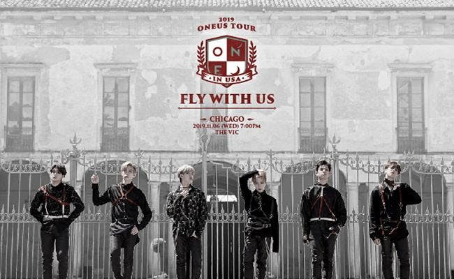 2019 ONEUS 'FLY WITH US' TOUR IN CHICAGO