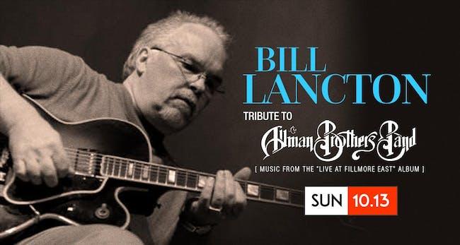 Bill Lancton | Allman Bros | Live at the Fillmore