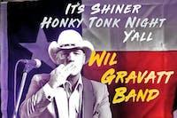 """Shiner Honky Tonk Night"" feat.  Wil Gravatt Band"