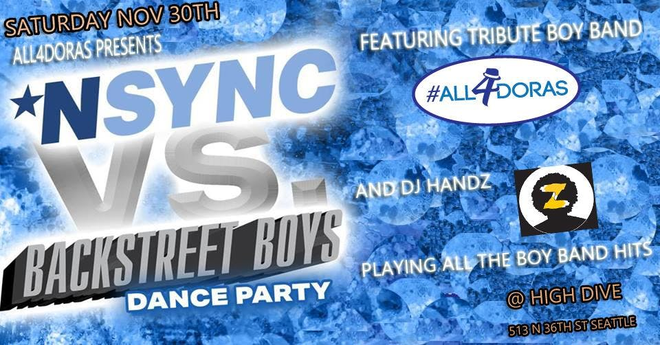 NSYNC vs Backstreet Boys Dance Party feat #All4doras w/ DJ Handz