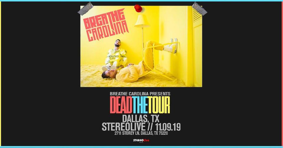 Breathe Carolina - Stereo Live Dallas