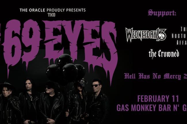 The 69 Eyes w/ Wednesday 13