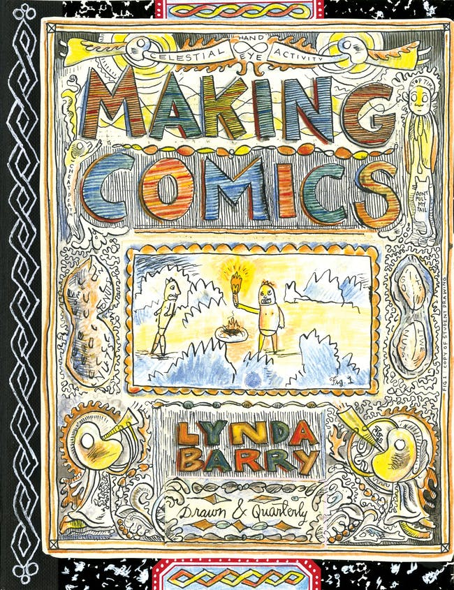 Making Comics by Lynda Barry Book Release