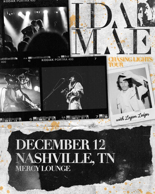 Chasing Lights Tour - Ida Mae with special guest Logan Ledger