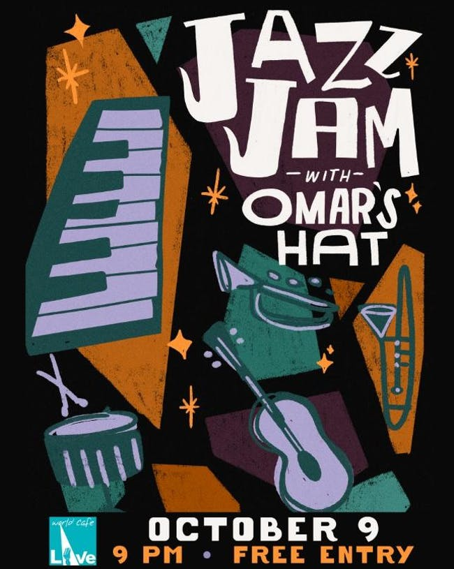 Jazz Jam with Omar's Hat