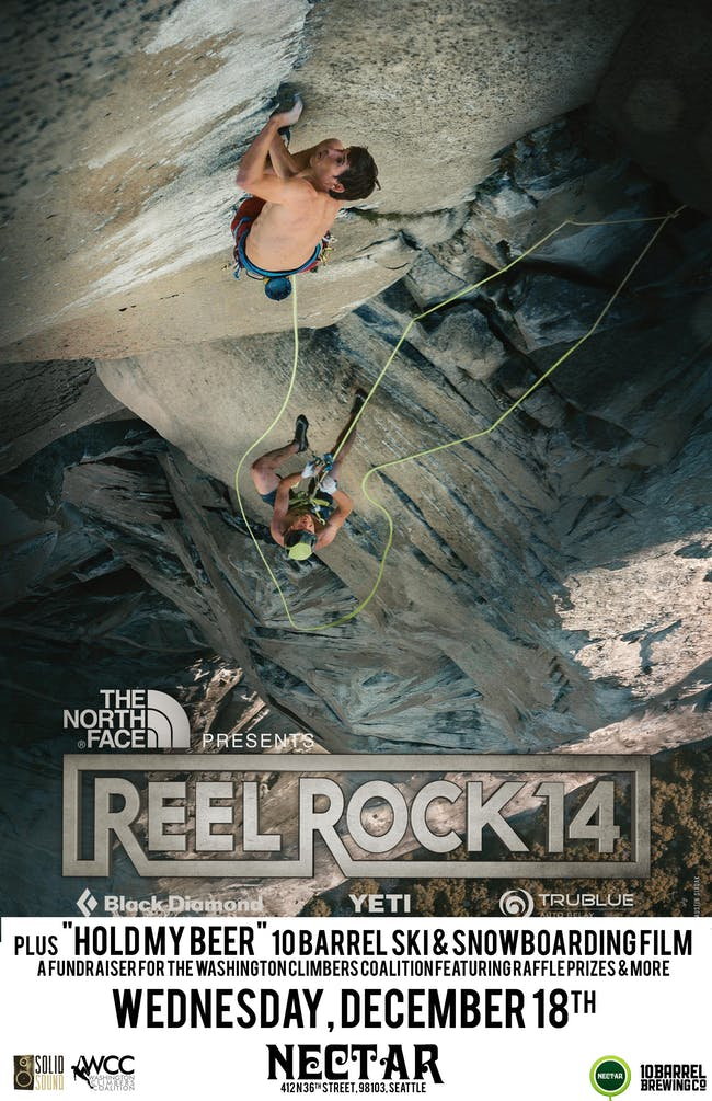 "SOLD OUT: REEL ROCK 14 plus ""Hold My Beer"""