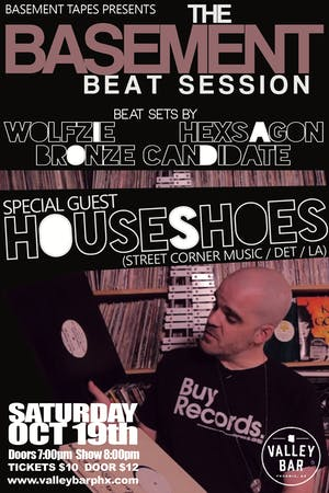 THE BASEMENT BEAT SESSION feat. HOUSE SHOES + MORE!