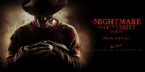 Nightmare on 14th Street at Up & Down Halloween10/26