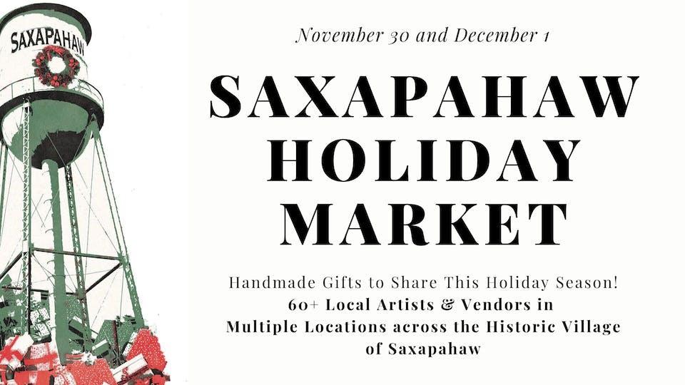 Saxapahaw Holiday Market - November 30 and December 1