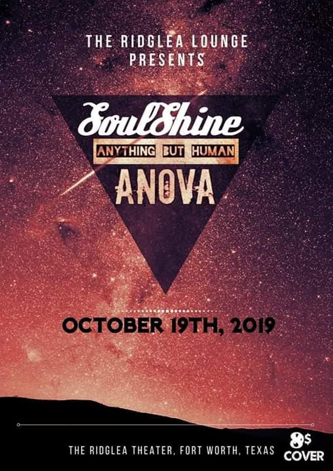SoulShine w/ Anything But Human and ANOVA in The Ridglea Lounge