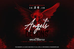 Angels and Demons at Ainsworth Midtown Halloween Party (Open Vodka Bar 9-10pm)