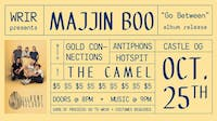 Majjin Boo Album Release w/ Gold Connections, Antiphons, castle og, Hotspit