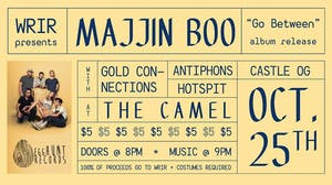 Majjin Boo Album Release w/ Gold Connections, Antiphons, castle og, Hotspit
