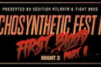 Echosynthetic Fest Part III: First Blood Part II