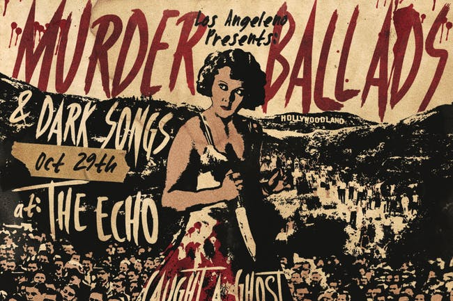 Murder Ballads & Dark Songs: An Evening of Timeless Songs About Killers